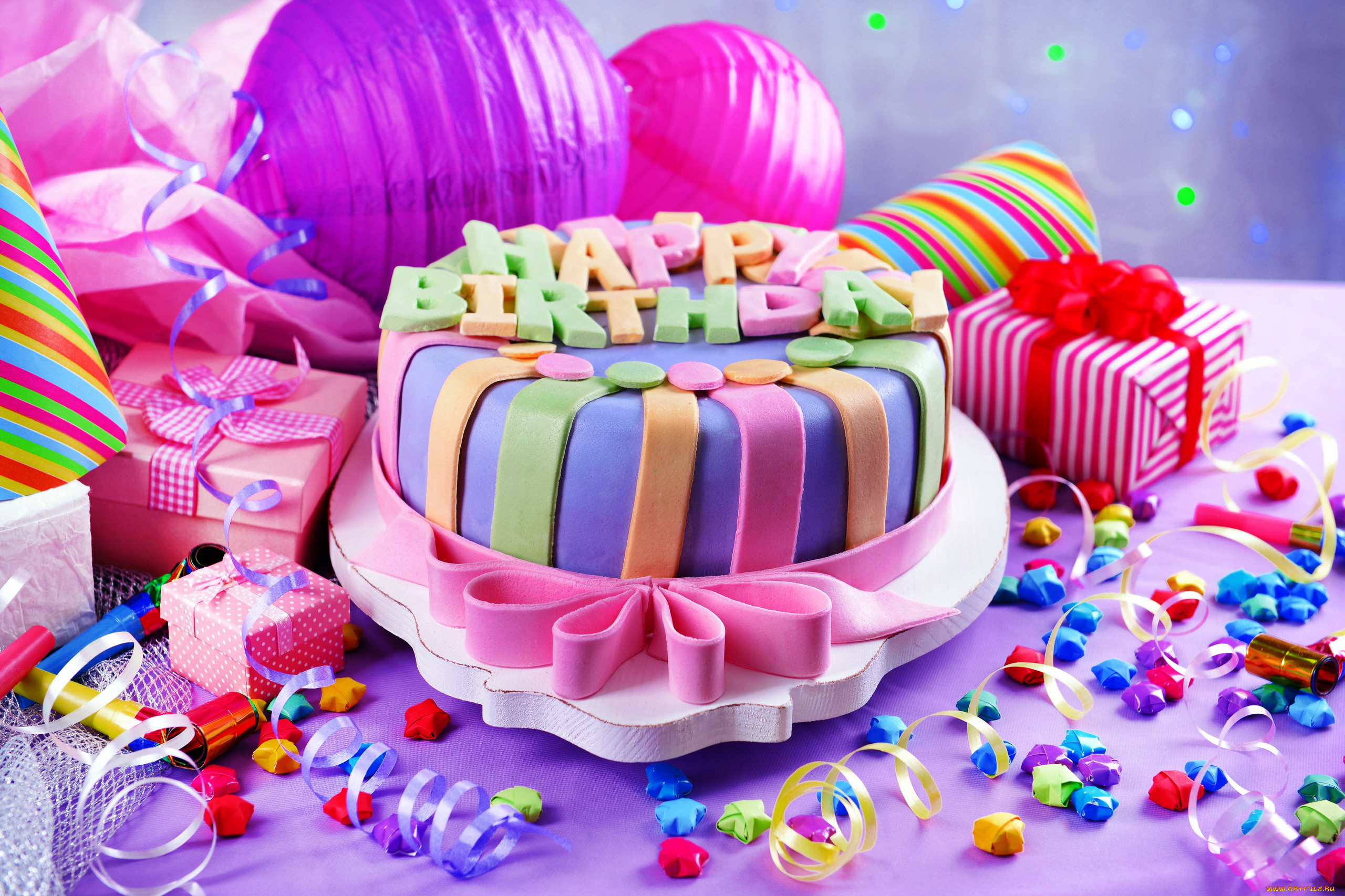 День рождения картинки тортики
